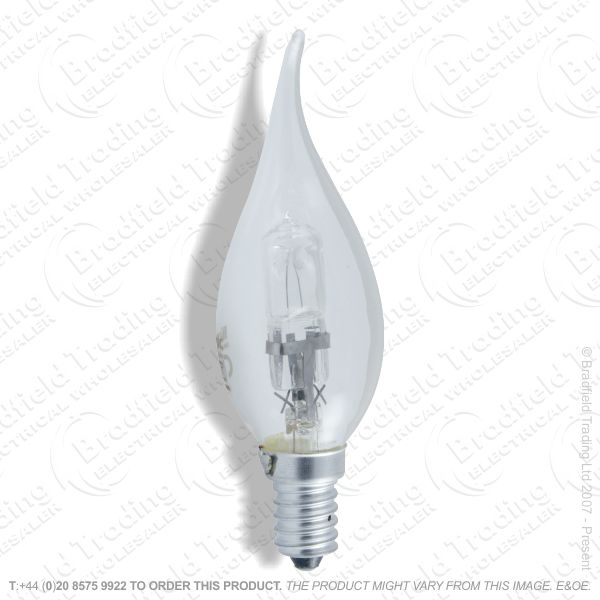 A12) Candle Candlelux SES Clear 28W SYLVANIA