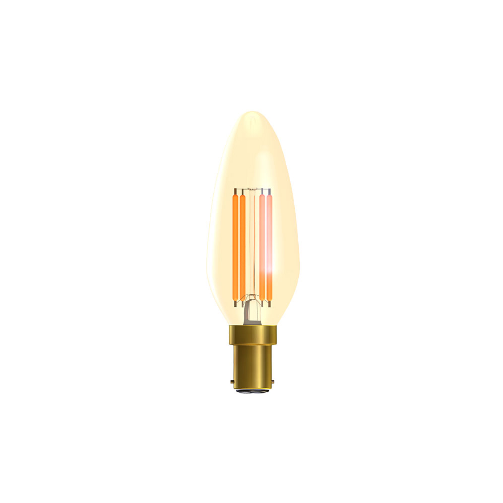 A26) LED Vintage Candle 2000k SBC 4W BELL