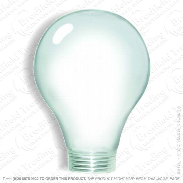 A57) Lamp Adaptor 60mm Round Clear BEL