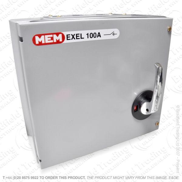 H27) Enclosed Switch Disconector TP 100A MEM
