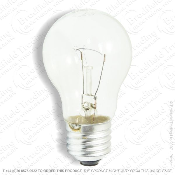 A02) GLS ES Clear 100W Tough Bulb BELL 3