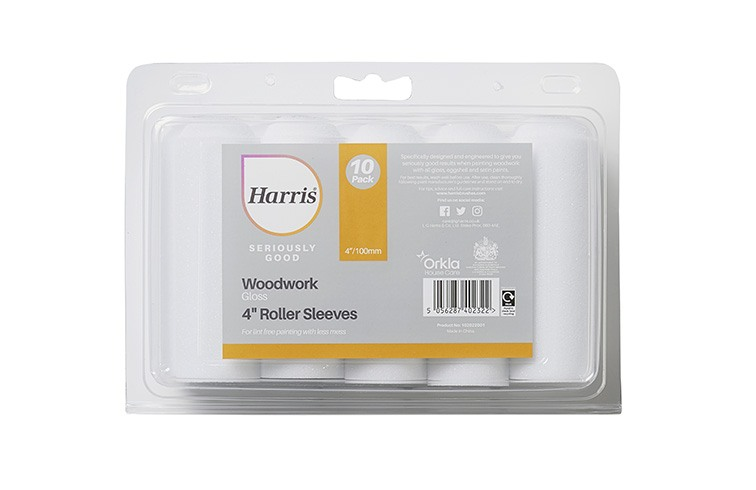 Mini Roller Sleeve 4  Gloss x10 HARRIS