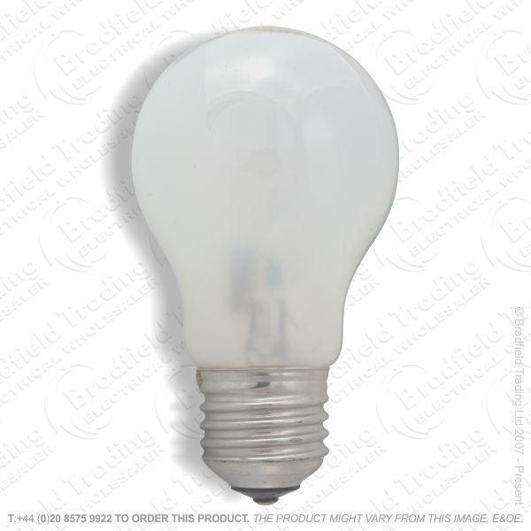 A12) GLS Halogen ES Opal 105W Bulb