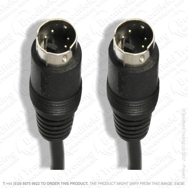 E26) S-Video Lead Plug to Plug 2M Lead