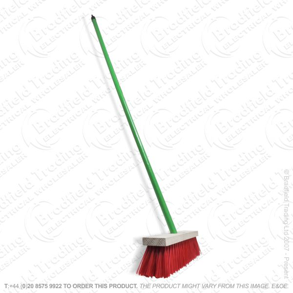 C24) Long Handle Floor Broom Hard