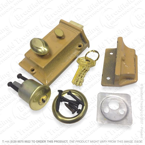 G59) Cylinder Lock Set Traditional