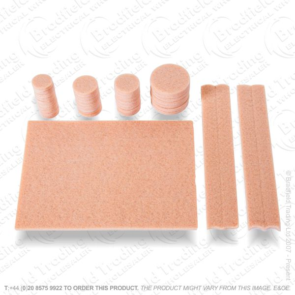 G03) 38pc Self Adhesive HD Felt Pads
