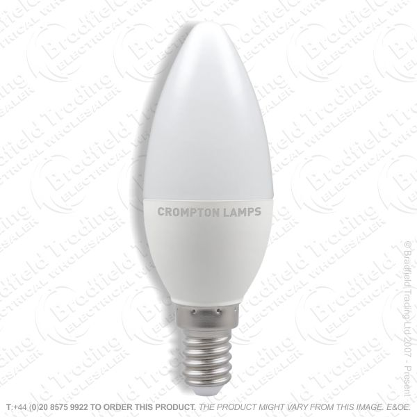 A29) 5.5W LED Candle SES 4k 240V CROMPTON