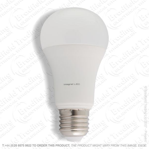 A22) 14W LED GLS ES 2700k Dim 1521lm INTEGRAL
