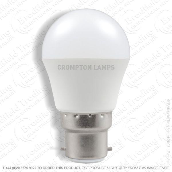 A32) 5.5W LED BC Golf 27k 240V CROMPTON