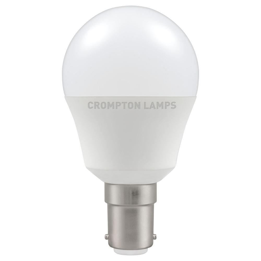 5.5W LED SBC Golf 27k 240V CROMPTON
