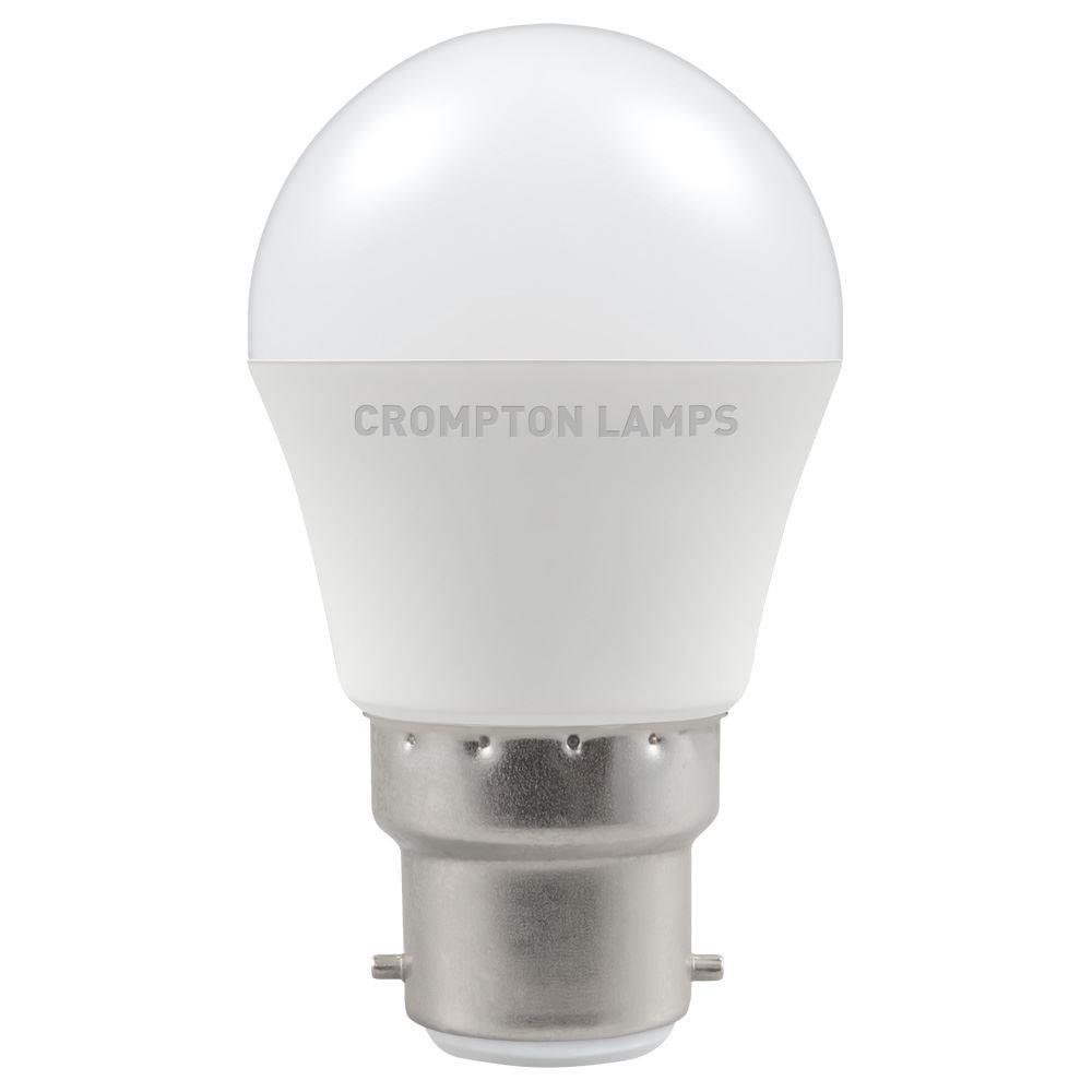 LED Golf 5.5W BC 6500k 240V CROMPTON
