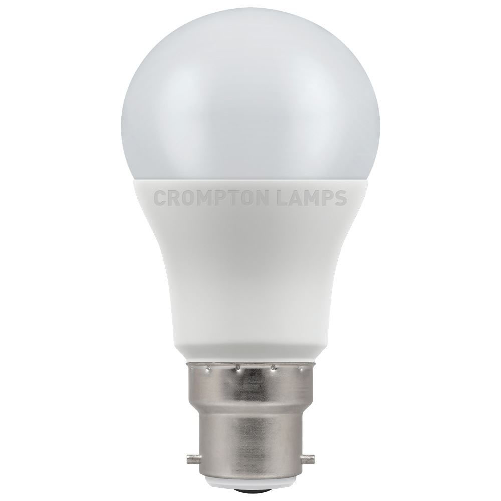 8.5W LED GLS BC 27k 240V CROMPTON