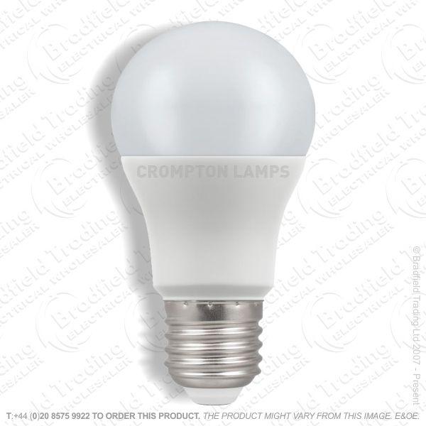 A20) 8.5W LED GLS ES 27k 240V CROMPTON