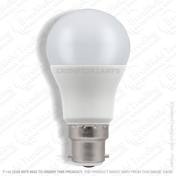 A20) 8.5W LED GLS BC 4k 240V CROMPTON