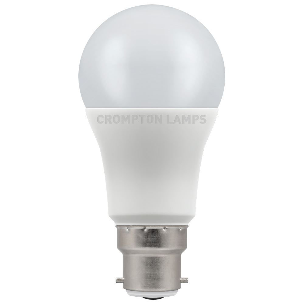 11W LED GLS BC 27k 240V CROMPTON