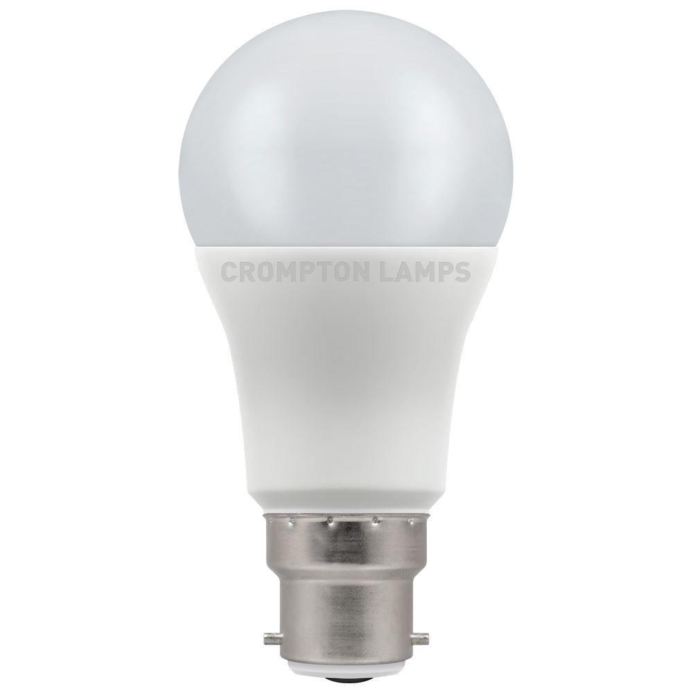 12W LED GLS BC 4k 240V Dimm CROMPTON