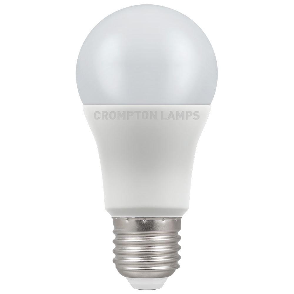 12W LED GLS ES 4k 240V Dimm CROMPTON
