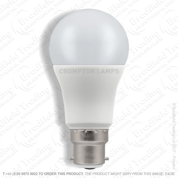 A20) 15W LED GLS BC 27k 240V CROMPTON