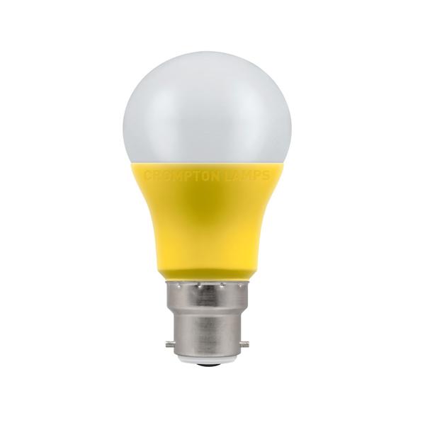 9W LED GLS BC 2700k 110V CROMPTON