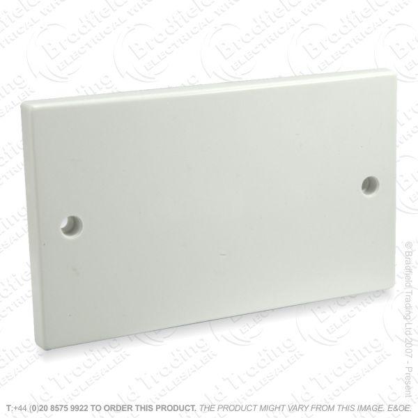 I24) Blanking Plate 2G white