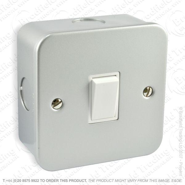 I29) Switch Metal Clad 10A 1G 2w ECO