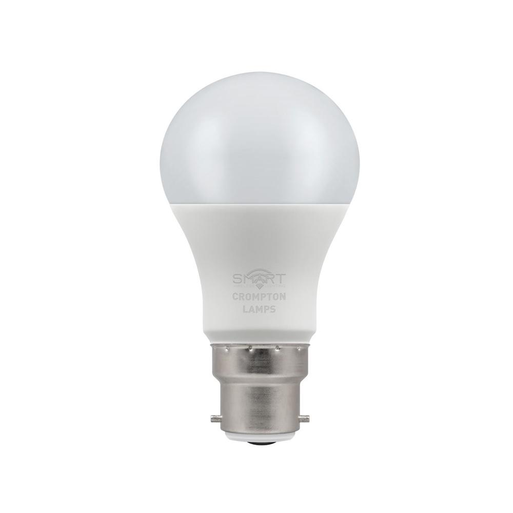 8.5W LED Smart WiFi GLS BC 3k CROMPTON