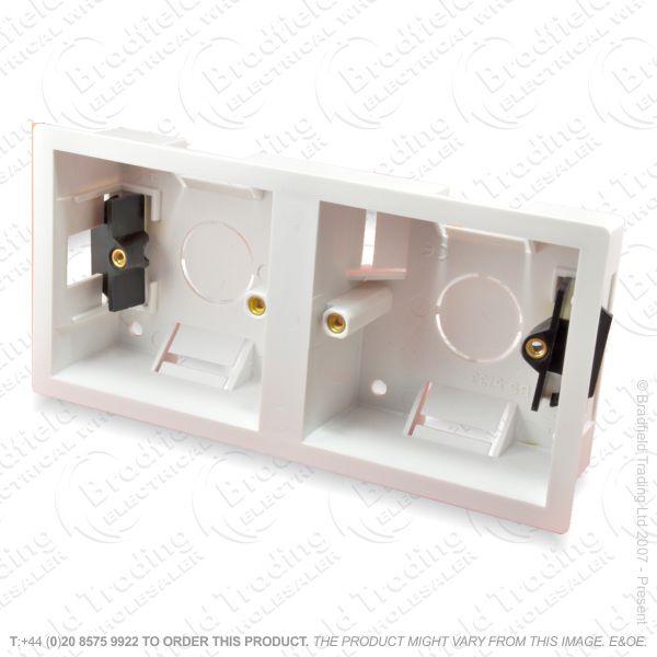H23) Dry Lining Box 2G 1G+1G Dual Access 35mm
