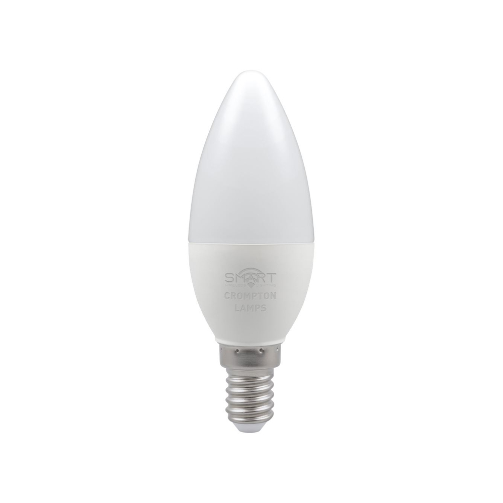 5W LED Smart WiFi Candle SES 3K CROMPTON