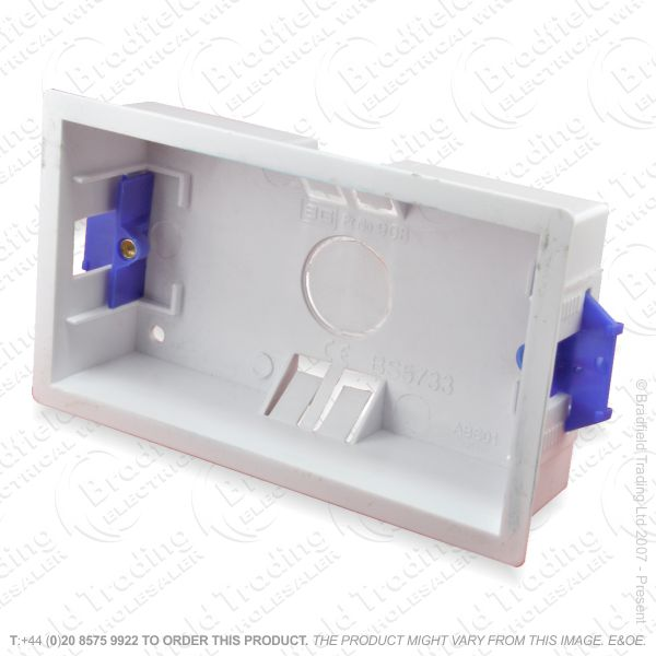 H23) Dry Lining Box 2G 35mm Plasterboard ECO