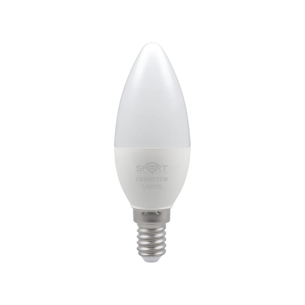 5W LED Smart WiFi Candle SES RGBW CROMPTON