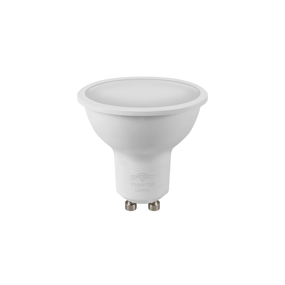 5W LED Smart WiFi GU10 Tunable 27-4K CROMPTON