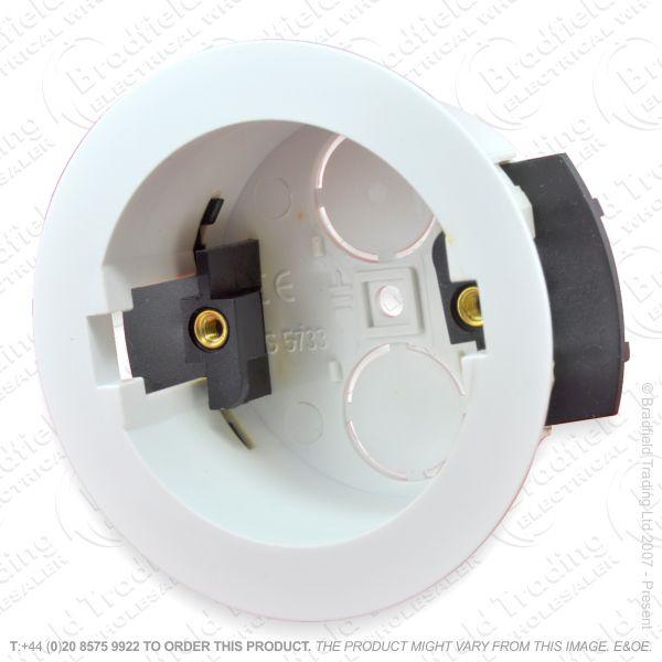 H23) Dry Lining Round 34 mm Deep 62mm