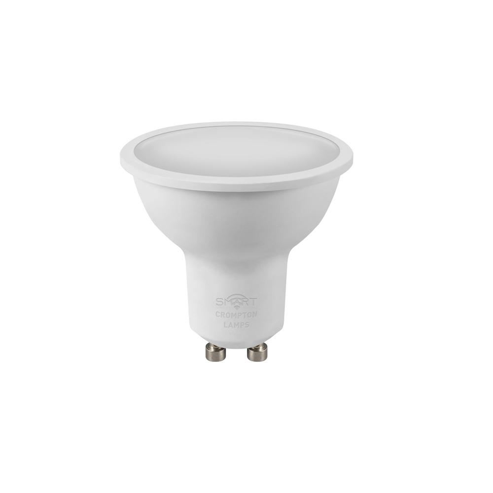 5W LED Smart WiFi GU10 Dimm RGBW 4K CROMPTON