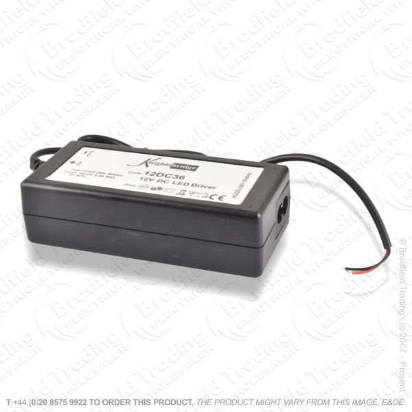 D13) LED Flex Driver 12V 3A IP20 KNI