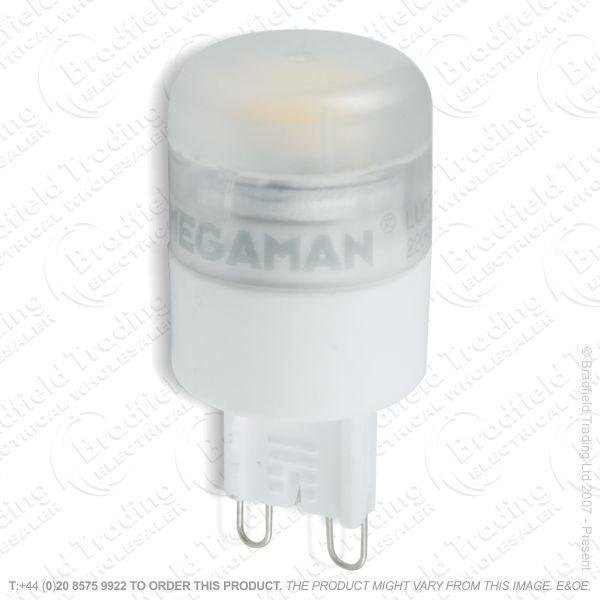 A47) 3W G9 Cap Bulb 4K LED Dimm MEGAMAN