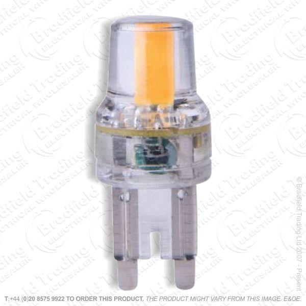 A47) 2w LED Capsule G9 28k 180lm MEGAMAN