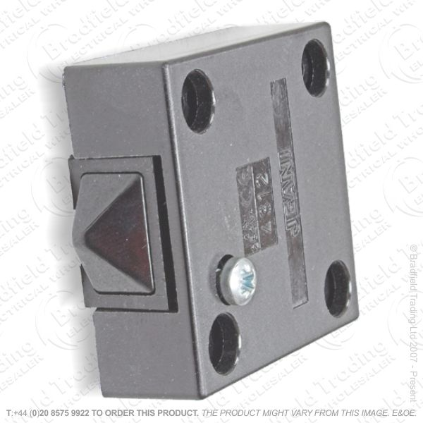 F14) Switch Door Push Break Surface blac