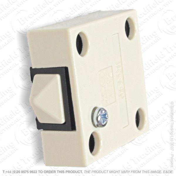 F14) Switch Door Push Break Surface white