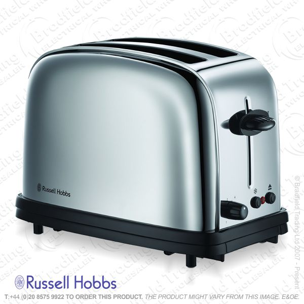 C04) Toaster 2slice Brushed R/HOBBS