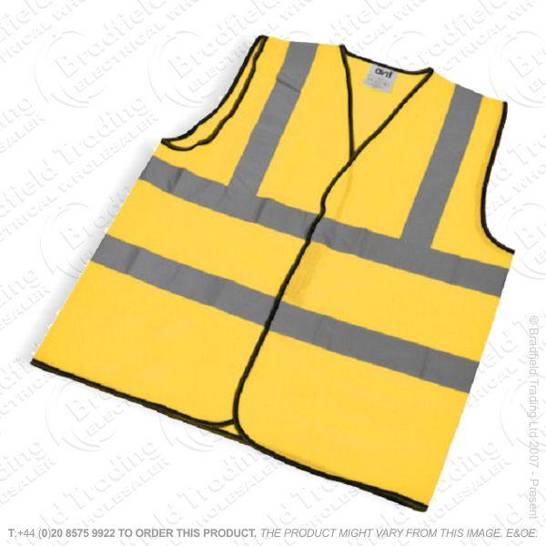 G49) Hi Vis Vest  Waistcoat Mix Size ECO
