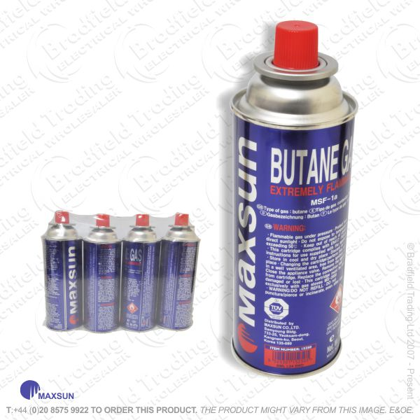 C08) Gas Canisters Camping 4 pc 15200