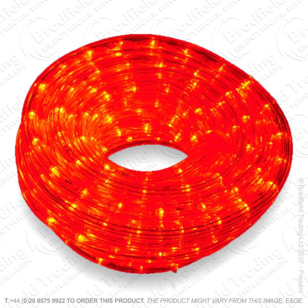 LED Flex Rope Light Red 10M 1.5M