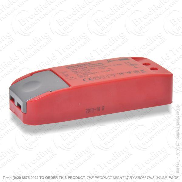 B43) LED Driver 12V 12.5A 150W DC IP66