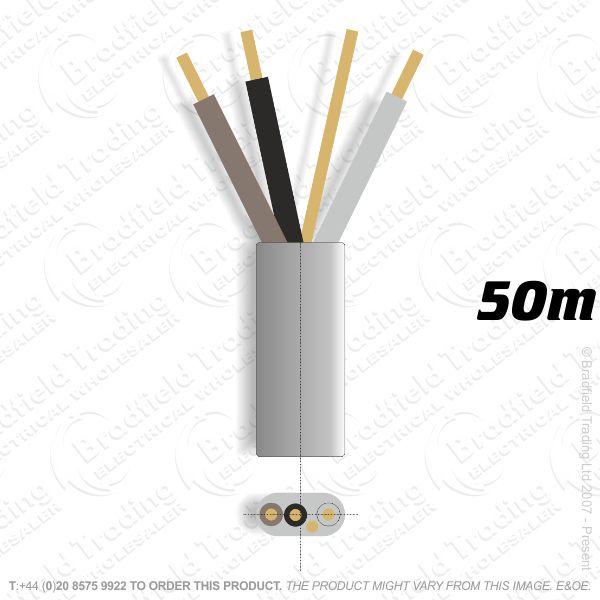 H10) 6243Y Flat 1.5mm 3c   earth grey 50M