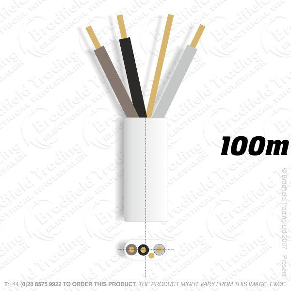 H10) 6243B Flat 1.5mm 3C E Low Smoke 100M Whi
