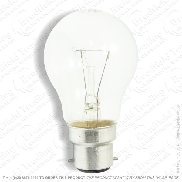 A02) GLS BC Clear 15W Bulb BELL