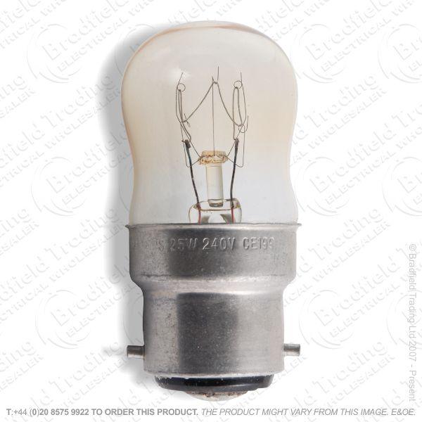 A08) Pygmy BC Clear 15W Bulb CRO