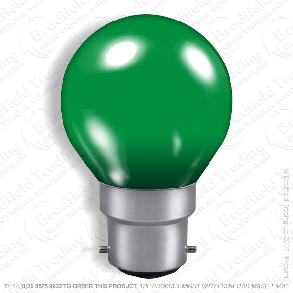A07) Golf Round 45mm col BC green 15W