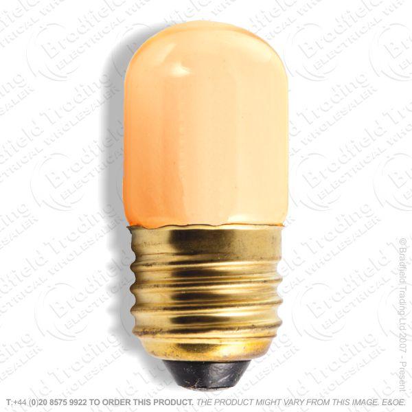A08) Pygmy Coloured ES Amber 15W Bulb